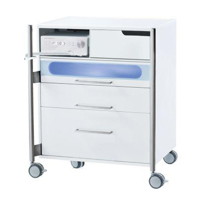 Unité de podologie Room Classic taille M avec ou sans tiroir LED-UV - Ruck