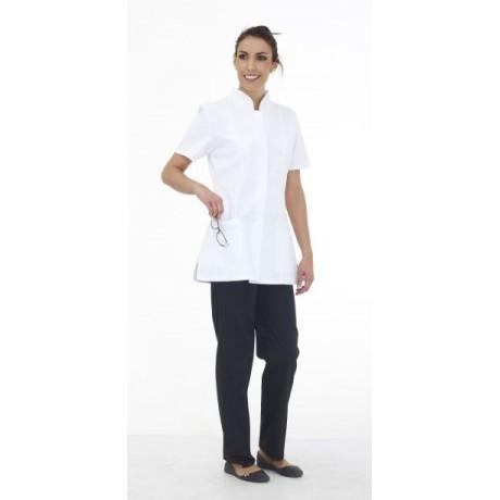 Tunique femme manche courte blanche