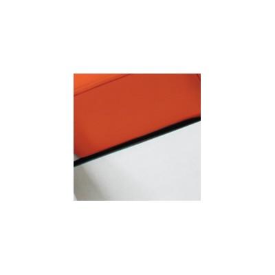 Ensemble - Fauteuil de pédicurie PROFESSIONAL + Siège praticien BIOSWING - Mangue - Dossier blanc - Ruck