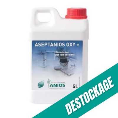 Aseptanios OXY+ - Désinfection par voie aérienne -5L - Anios
