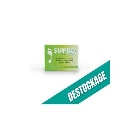 Boite Supro cure pour pied - Traite efficacement l'hypersudation des pieds
