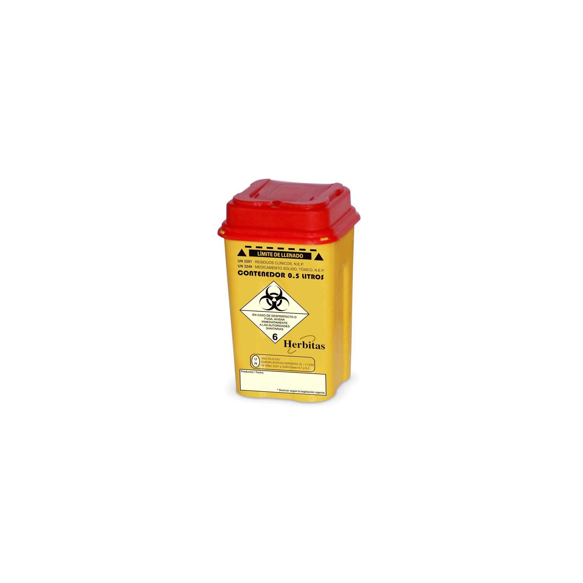 Bac de récupération de lames - Herbitas