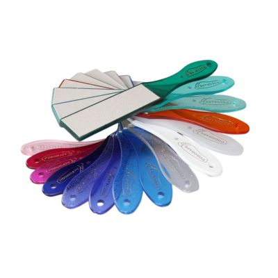 Podorape de pédicurie - Grain fin et moyen - 16 coloris disponibles - 27 cm
