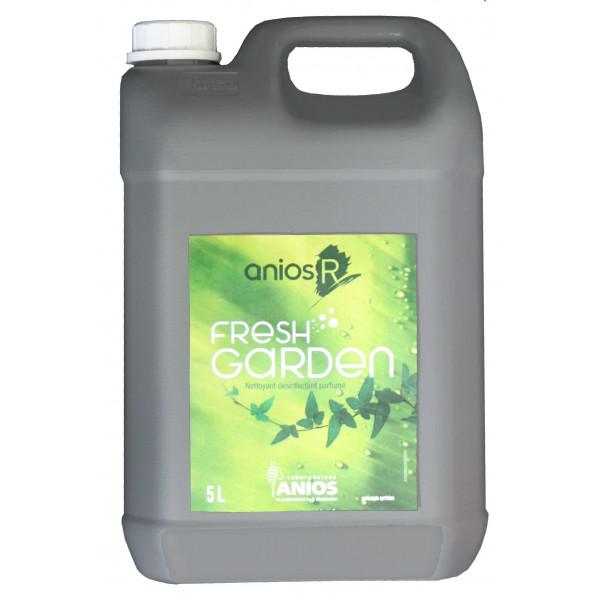 Nettoyant Fresh Garden - Sols et Surfaces - Désinfectant Parfumé - 5L - Anios