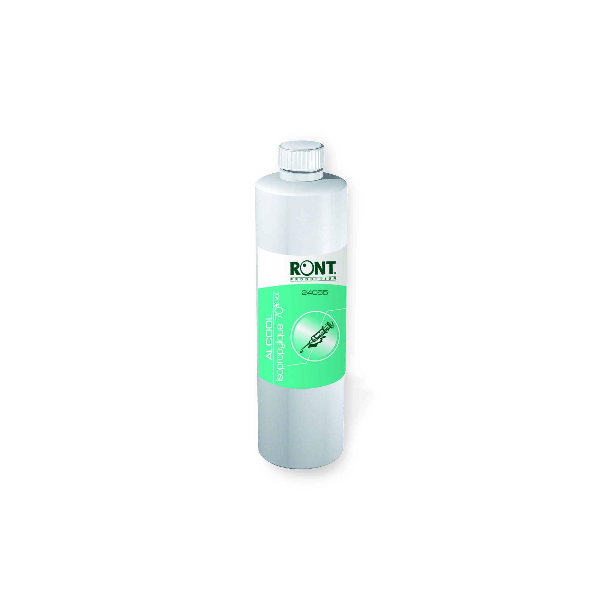 Recharge dish alcool isopropylique 70% - 500 ml - Ront