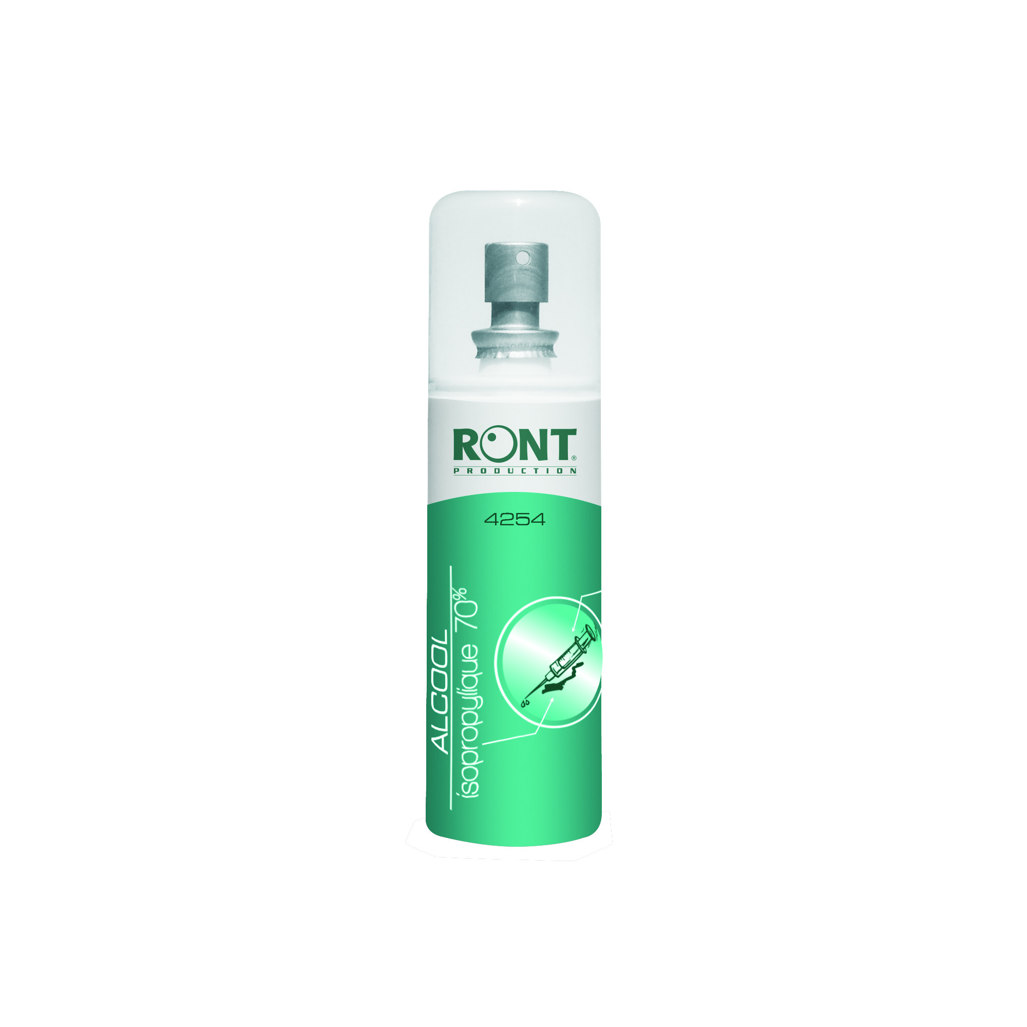 Alcool isopropylique 70 % - 100 ml - Ront