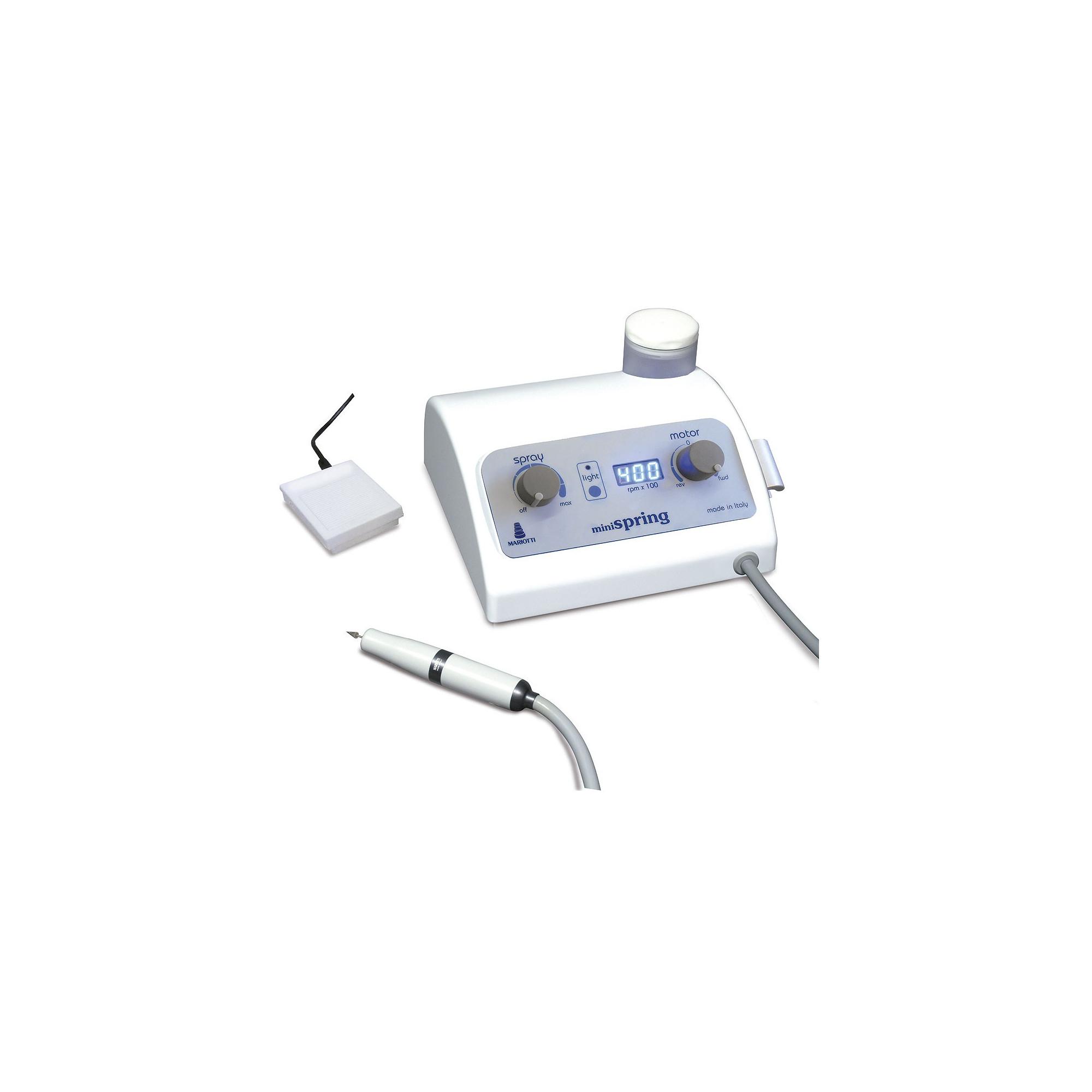 Micromoteur Kinefis MiniSpring sans brosses avec Spray et lumière LED 40 000 tr/min