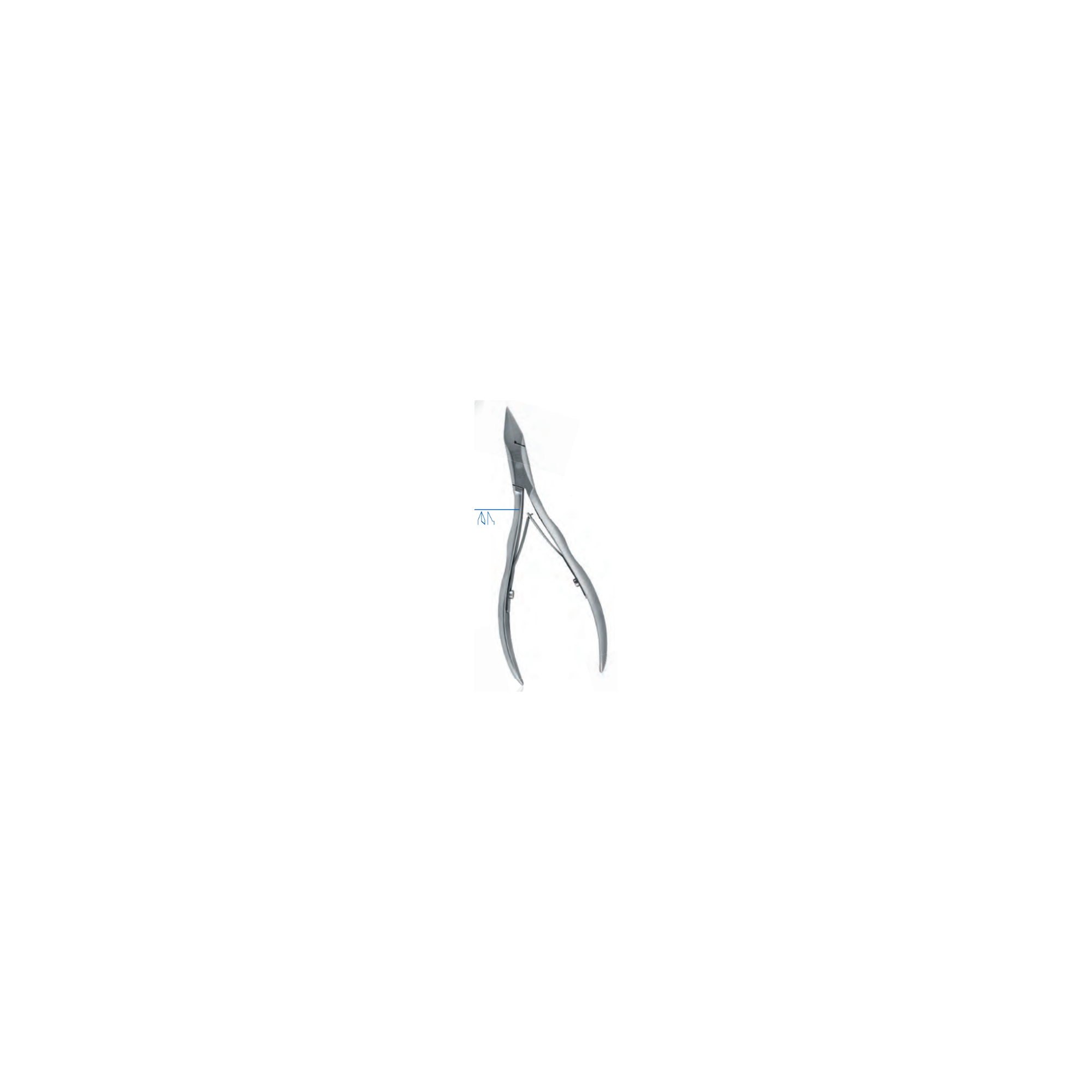Pince à ongles - Coupe droite - Mors plats - 13 cm - Dovo