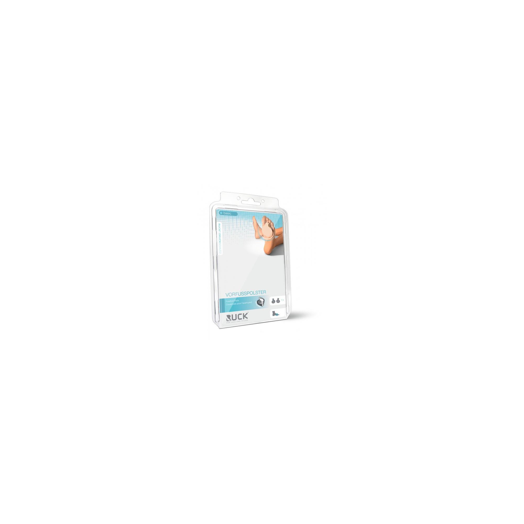 Protection métatarsienne en mousse de latex - Soulage les douleurs - 2 tailles disponibles - 1 paire - Ruck
