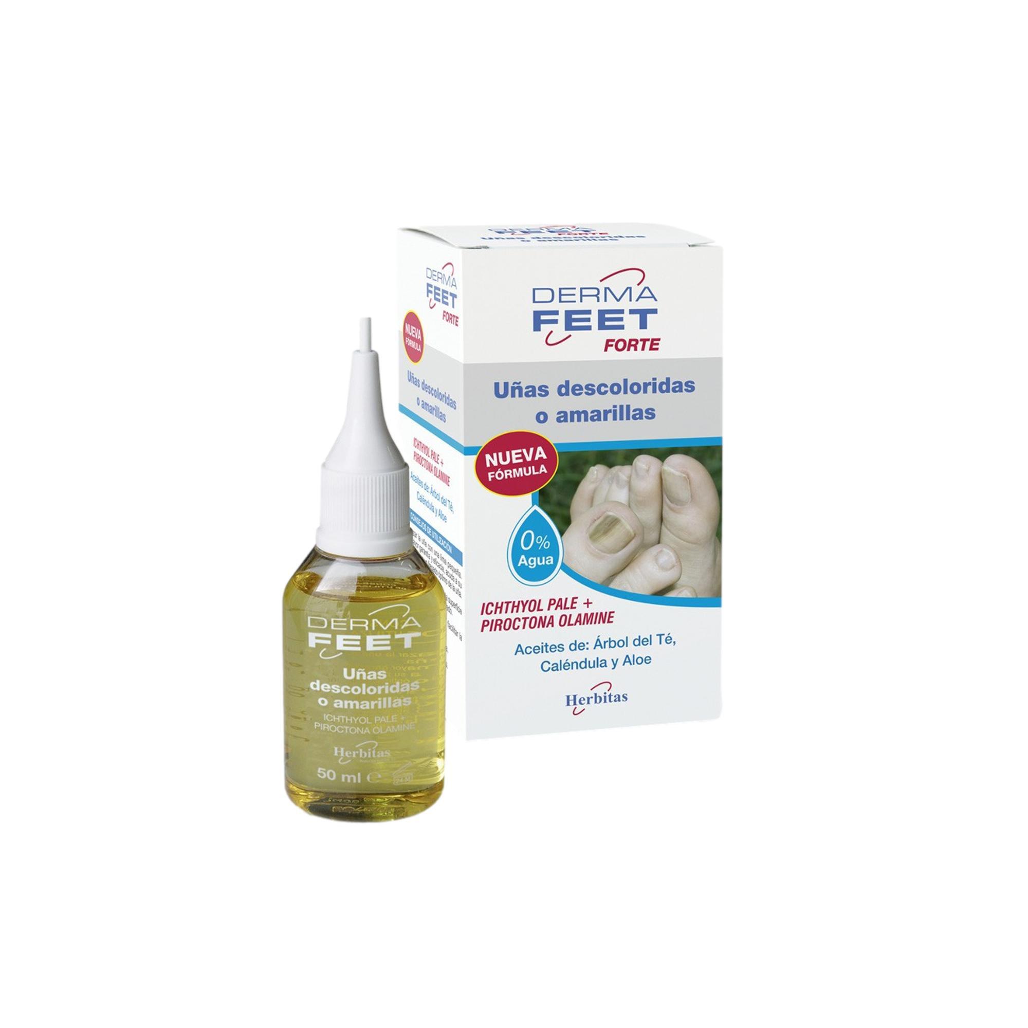 Ongles fanés Dermafeet Forte - 50 ml - Herbitas