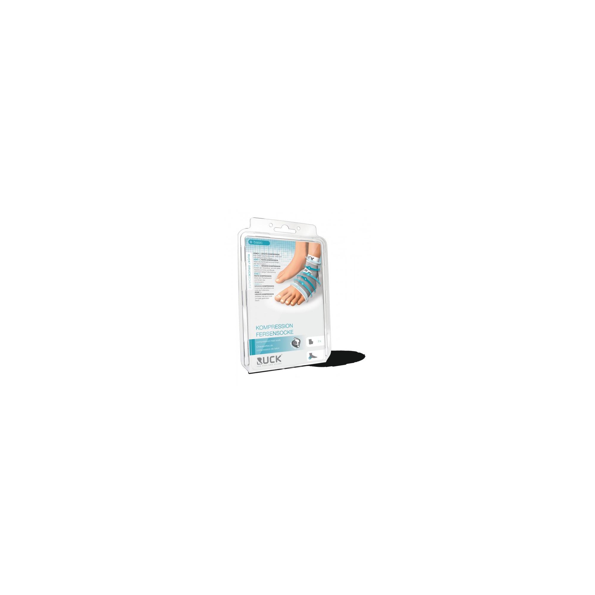 Chaussette de contention - Protection talon cheville - 4 tailles disponibles - Ruck