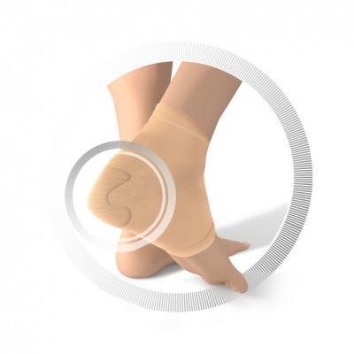 Chaussette de protection Smartgel - Talon - 1 paire - 2 tailles disponibles - Beige - Ruck