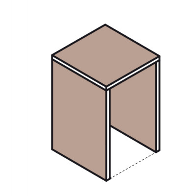 Meuble - 1 cube - Ruck