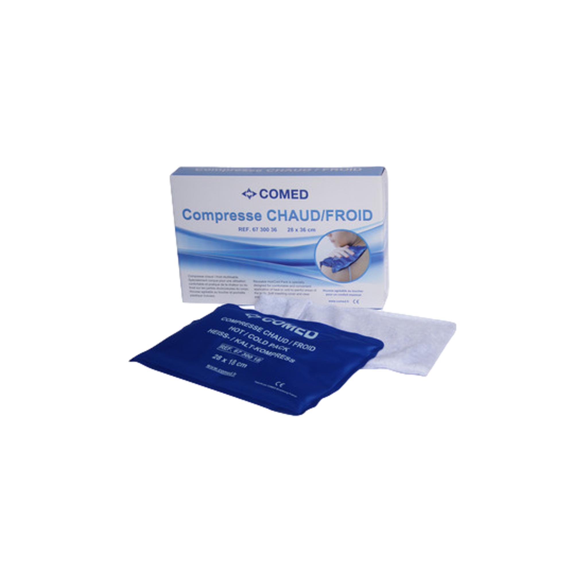 Compresse Chaud / Froid - Housse lavable - 3 tailles disponibles - Comed