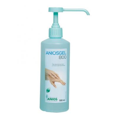Aniosgel 800 - Gel désinfectant pour friction hydroalcoolique - 500mL - Anios