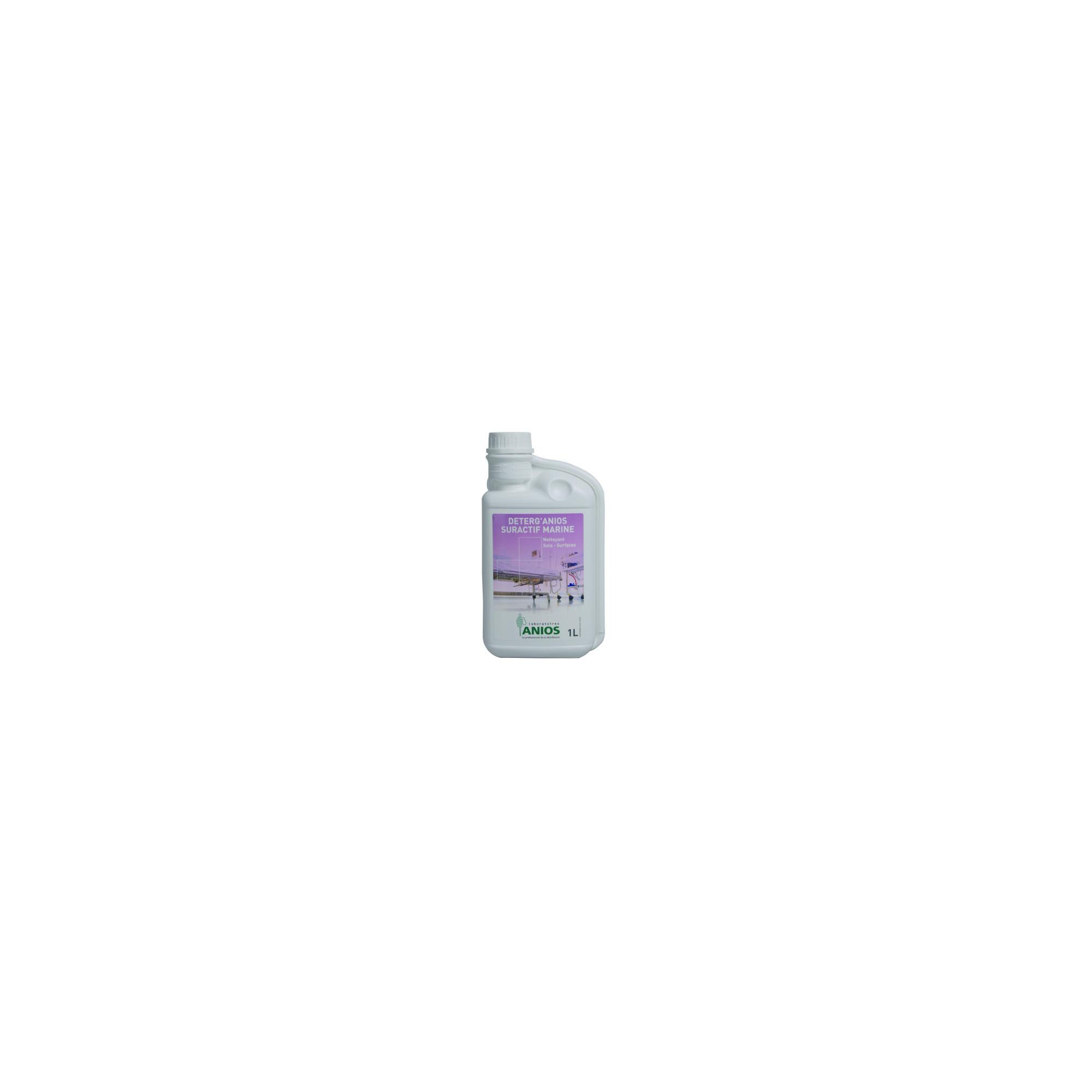 Deterg'anios - Sols et Surfaces - Effet mouillant, dispersant et solubilisant - 5L - Anios