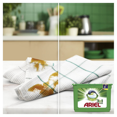 Lessive - Ariel Colour & Style - 3 in 1 PODS - 38 lavages