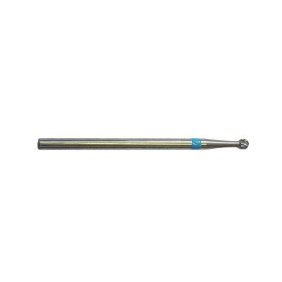 Fraise E7110 Carbure de tungstène - Traitement et finition des ongles - Denture croisée moyenne - 2,3 mm