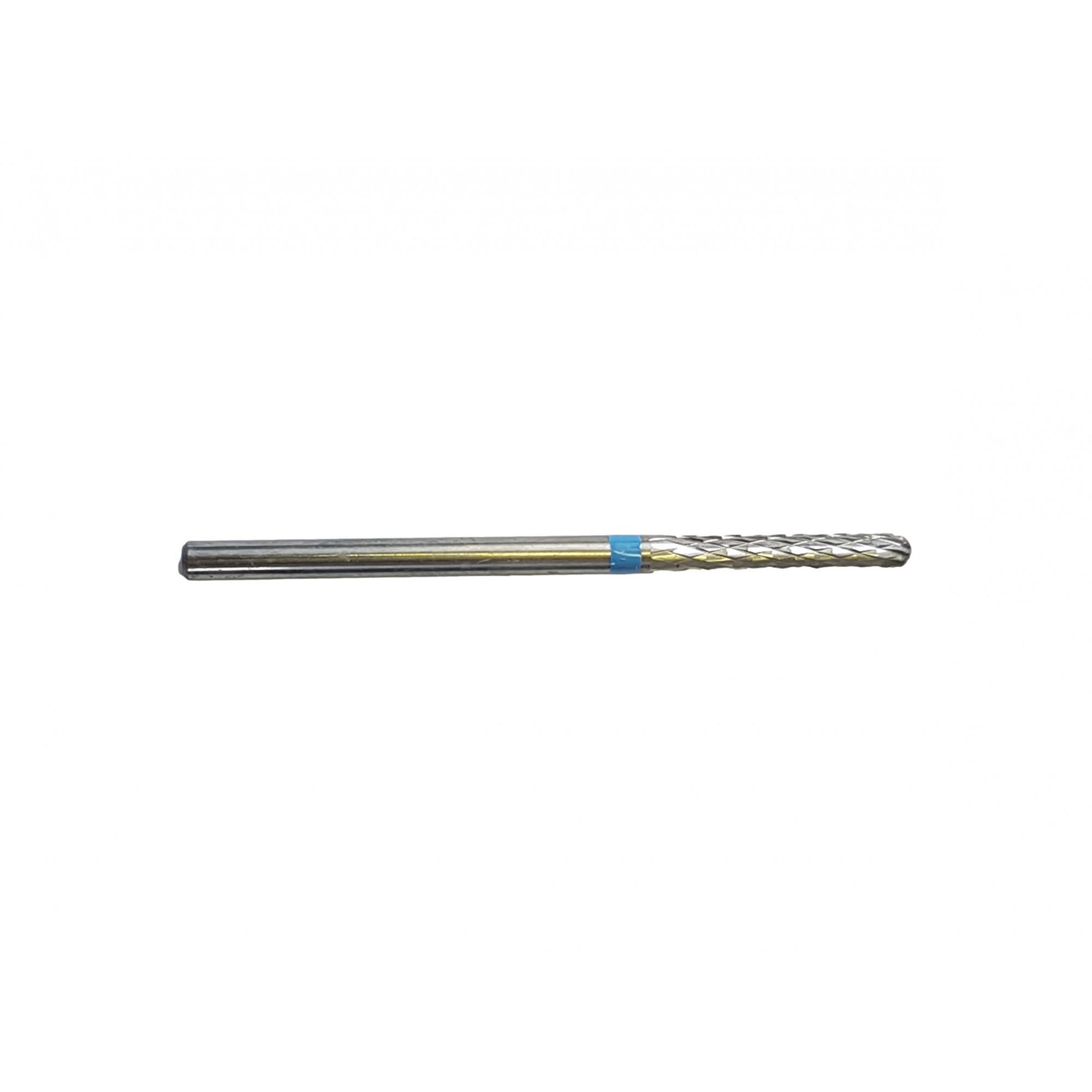 Fraise E0210 Carbure de tungstène - Traitement et finition des ongles - Denture croisée moyenne - 2,3 mm