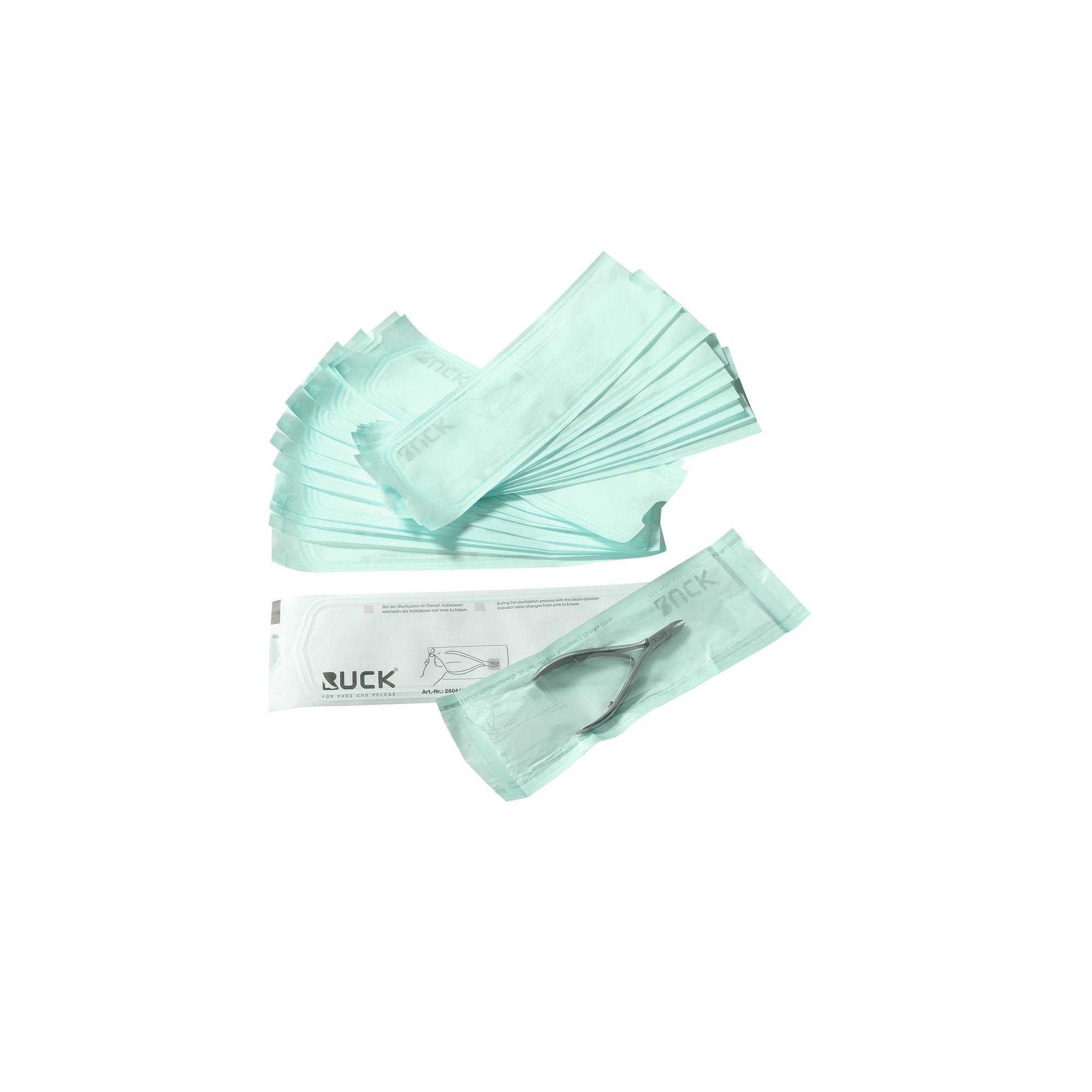 Gaines de stérilisation transparents pour autoclaves - Podolog Seal - Ruck