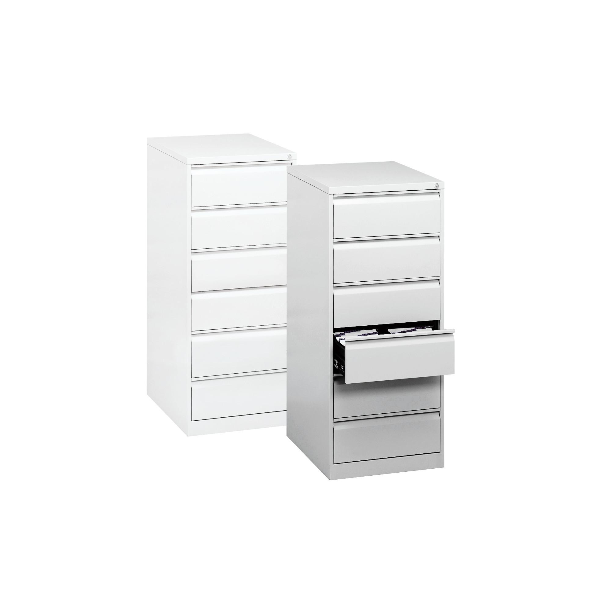 Armoir métallique à tiroir - Acier - Blanc pur - Ruck