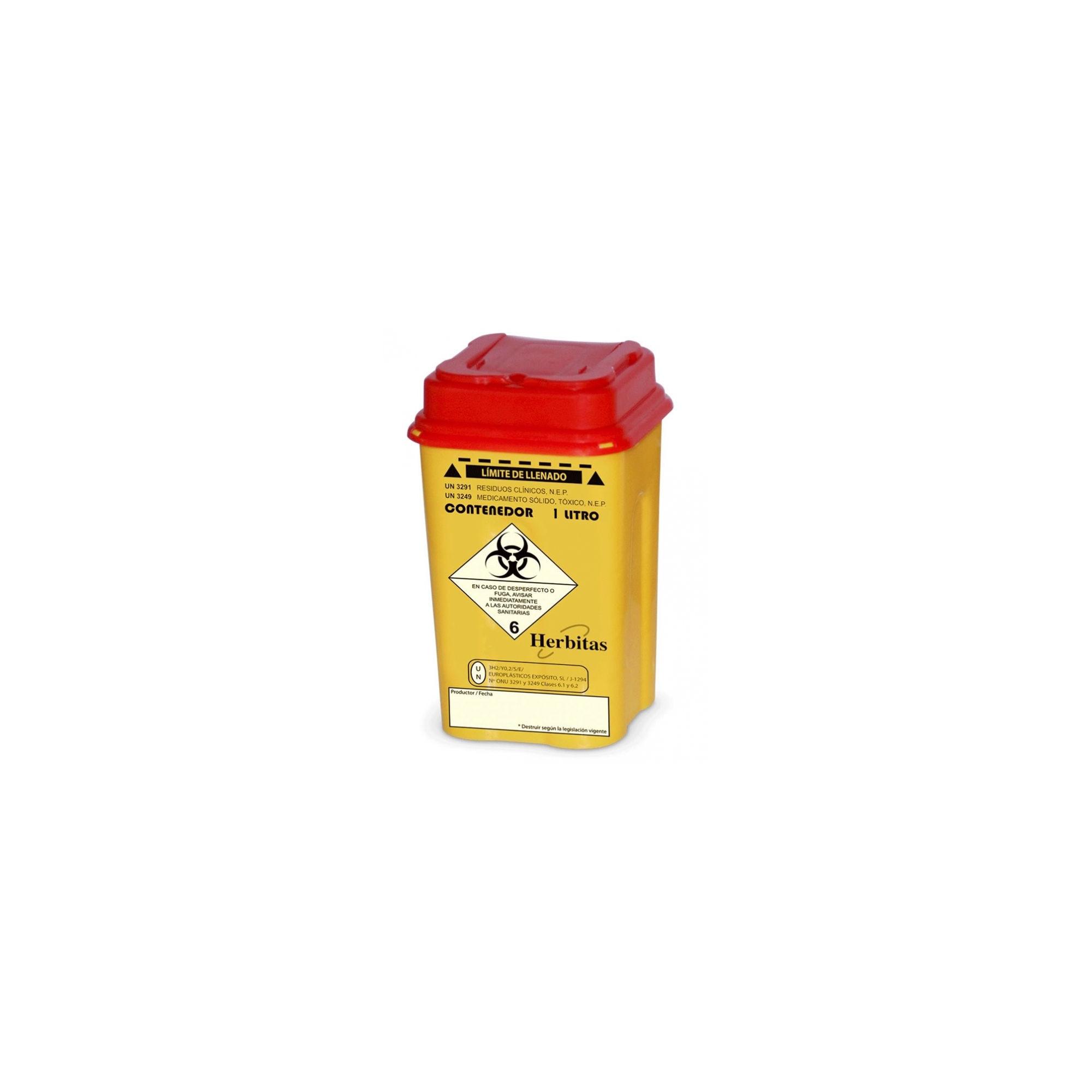 Bac de récupération de lames - 0,5 L - Herbitas