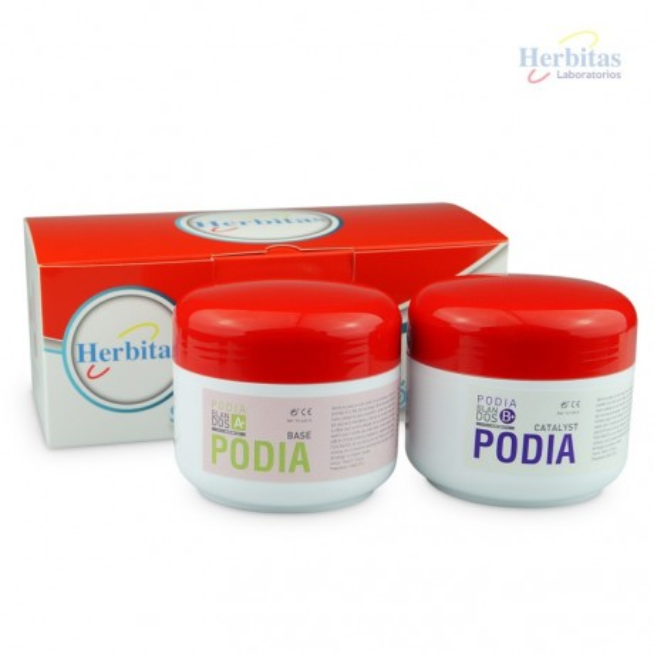 Kit Silicone Podia Blandos - A 200g +B 200g - Shore A 15 - Podia Blandos