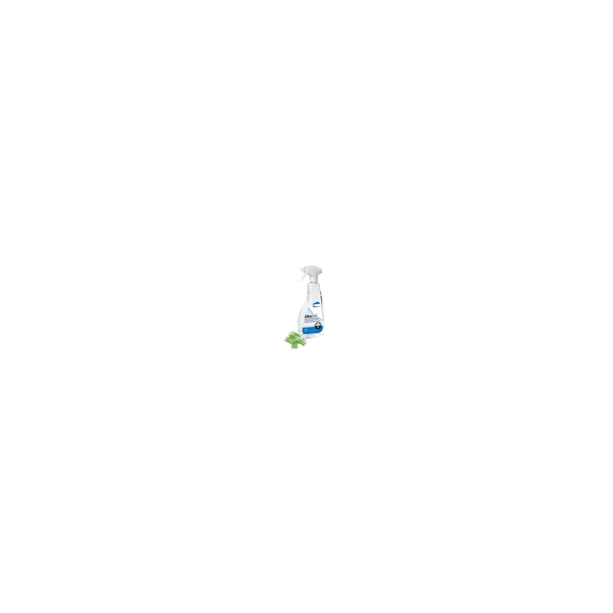Alkasurf - Détergent désinfectant des surfaces non sensibles - 750ml + 5 sachets doses  - Alkapharm