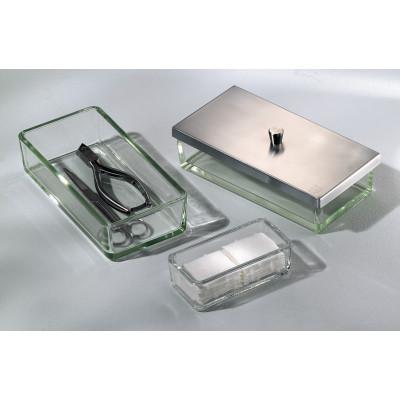 Plateau d'instruments en verre clair - Ruck