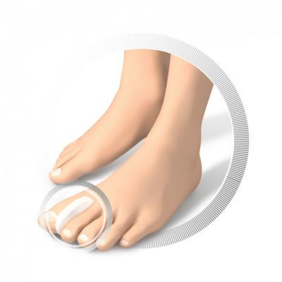 Intercalaire en silicone au niveau des orteils - Ruck